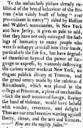 Virginia Gazette 10 Jan 1777