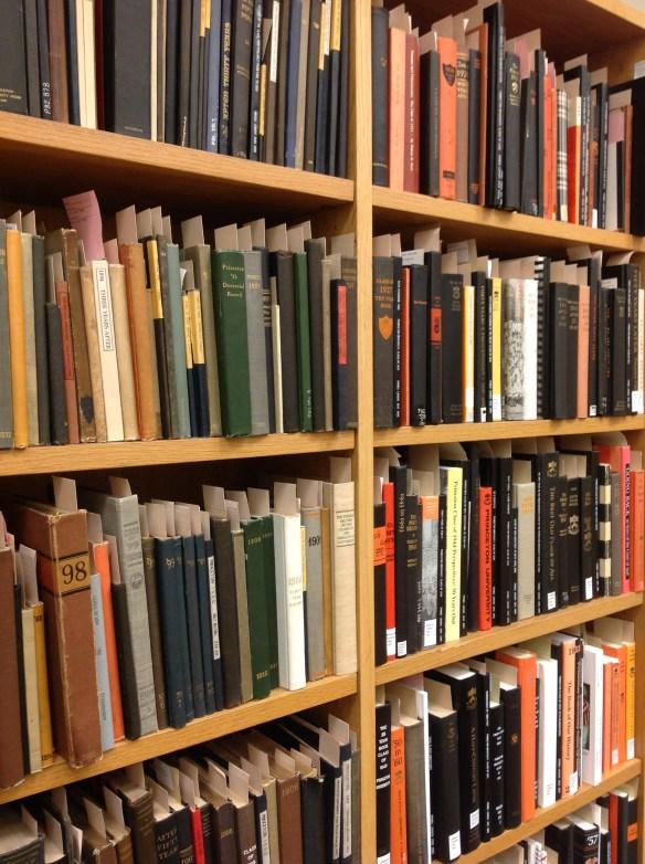 Reunion book shelves