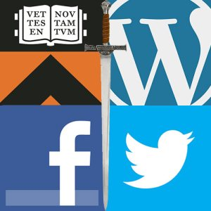 PU netID, WordPress.com, Facebook, Twitter