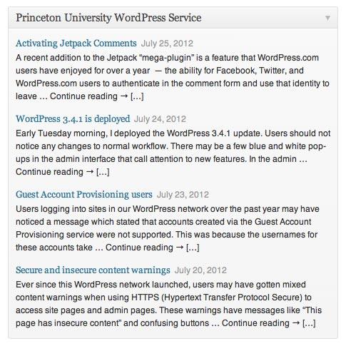 July | 2012 | Princeton University WordPress Service