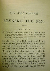 """Beginning of text, comprised primarily of the """"one-syllable"""" words, with longer words hyphenated into syllables."""