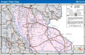 Jonglei map