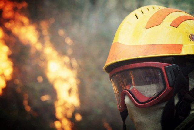 Incendio forestal en Asturias. Foto #404 Comunicación Popular