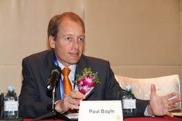 Professor Paul Boyle, RCUK's International Champion