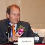 Professor Paul Boyle, RCUK's International Champion