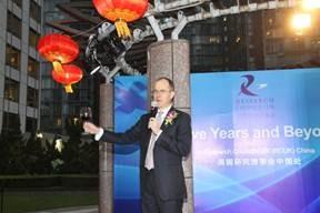 The British Ambassador to China, Sebastian Wood