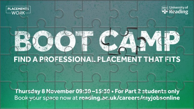 Professional Placement Year Boot Camp