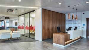 Inside PwC offices