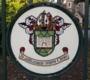 Motto of the Abbey School, Reading. Photo: Peter Kruschwitz.