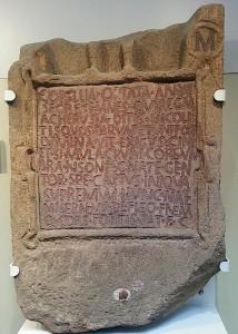Inscription of Corellia Optata