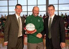 Basketball day at Roosevelt