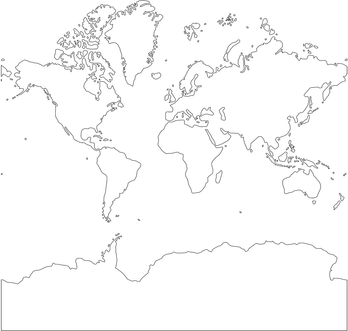 World Map Ascii Art Image Collections