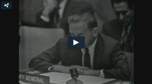 UN Video: The United Nations today moved closer to opening a new investigation into the death of  former Secretary-General, Dag Hammarskjöld. UNIFEED UNTV - 23 December 2014 (opens in a new window)