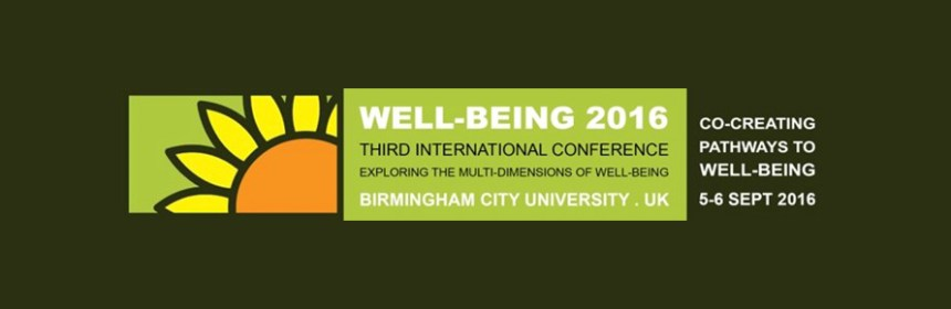 Well-being Conference 2016 logo