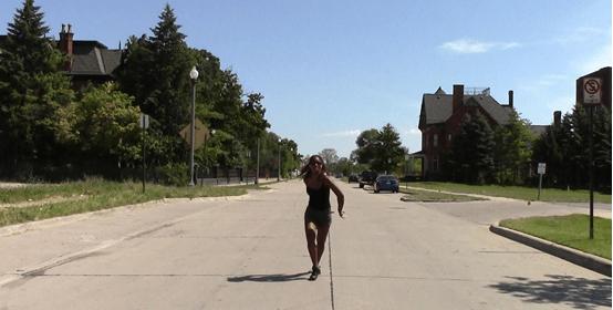 Film still: Dancing in the Street, Chloë Brown, 2016