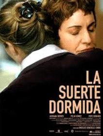 A poster of La Suerte Dormida (Ángeles González-Sinde, 2003)
