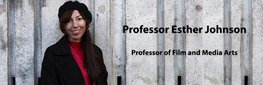 Professor Esther Johnson