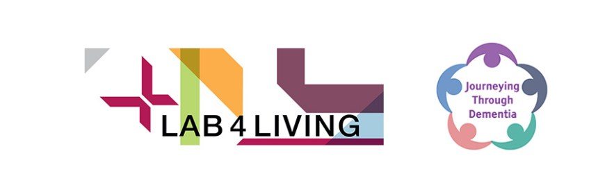 Lab4Living and Journeying Through Dementia logos