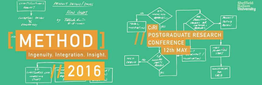 Method 2016 C3RI postgraduate Research Conference logo