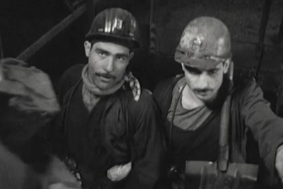 Still from 'We are all Migrants' by Virginia Heath (Professor of Film, SHU) - courtesy of Virginia Heath - coal miners