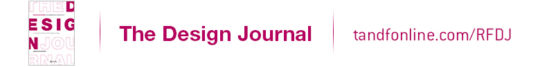 The Design Journal banner header