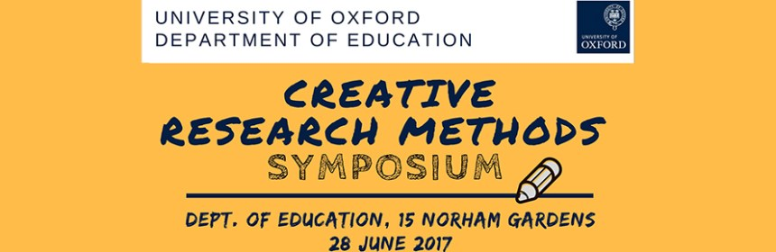 Banner information for University of Oxford Creative Research Symposium, property of UoO