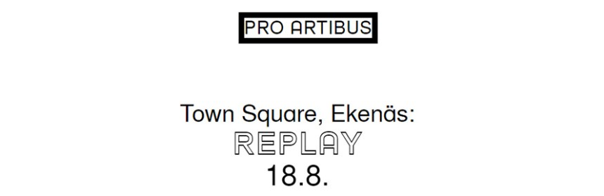 Image taken from Pro Artibus 'Replay' page