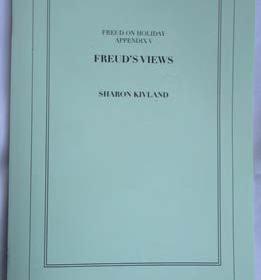 Front cover of 'Freud's Views' by Dr Sharon Kivland