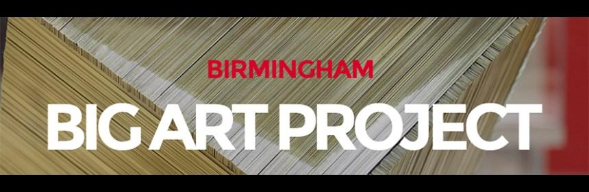 Banner image of Birmingham Big Art Project