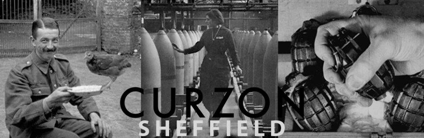 Composite image of stills from Asunder by Esther Johnson, with Curzon logo