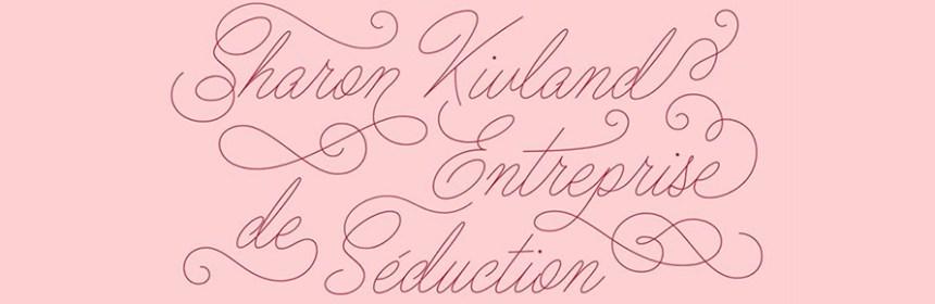 Banner image of Sharon Kivland's exhibition - Entreprise de Seduction. Courtesy of the artist / HEC Paris