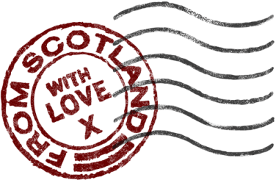 From Scotland with Love, logo