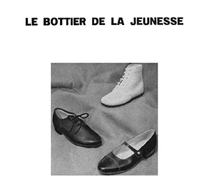 Front cover of Le Bottier de la Jeunesse by Sharon Kivland