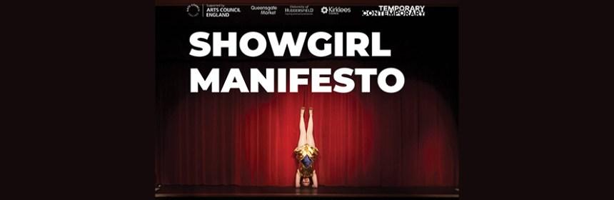 Showgirl Manifesto banner
