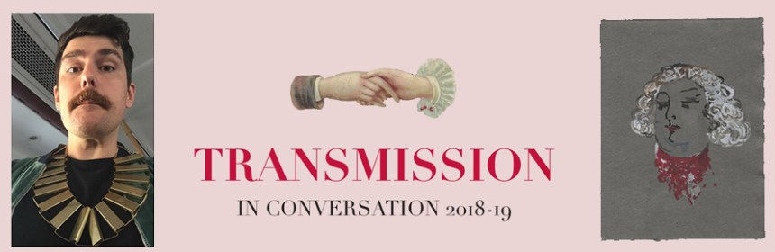 Transmission banner for Paul Clinton and Sharon Kivland