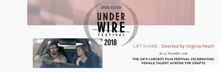Banner image for Virginia Heath's 'Lift Share' at UnderWire Festival