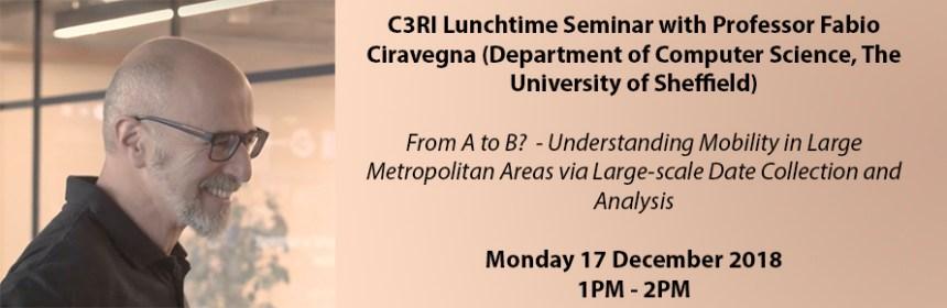 Banner image for Fabio Ciravegna's seminar 2018-12-17