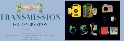 Transmission logo and image for Becky Shaw and Amanda Ravetz