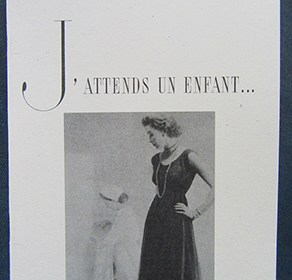 Cover of J'attends un enfant by Sharon Kivland