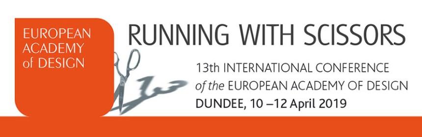 EAD2019 logo for Claire Craig's Design Hero invitation