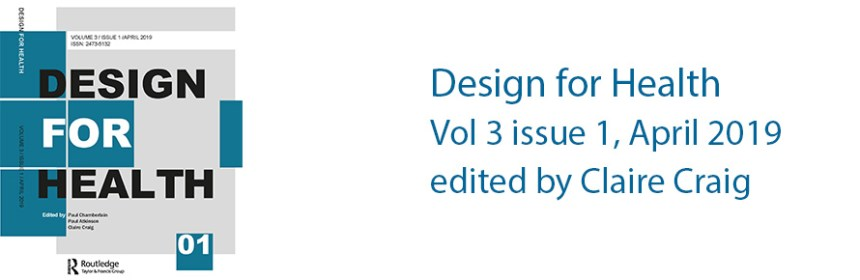 Design for Health, Vol 3 issue 1