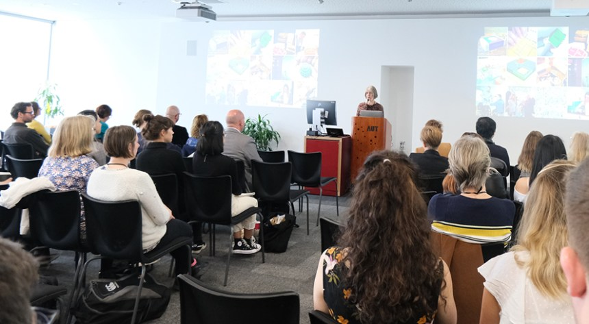 Claire Craig presents at Design for Health symposium in Auckland