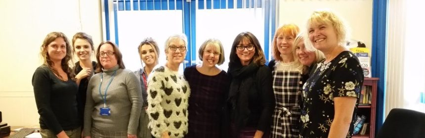 Lab4Living's Claire Craig meeting Welsh OTs
