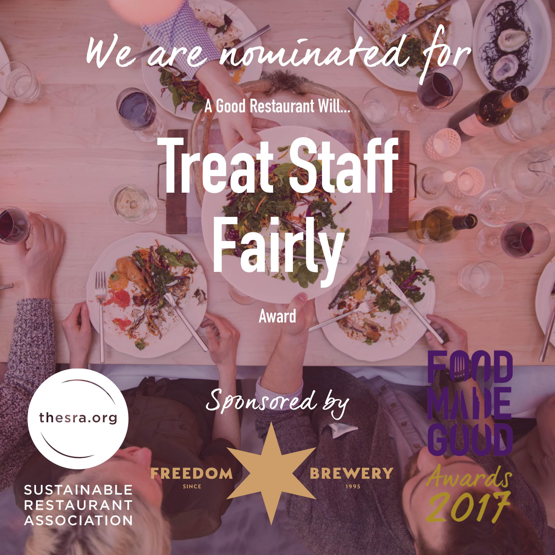 Shu nominated for food made good awards fd news online for Cuisine 2017 restaurant awards