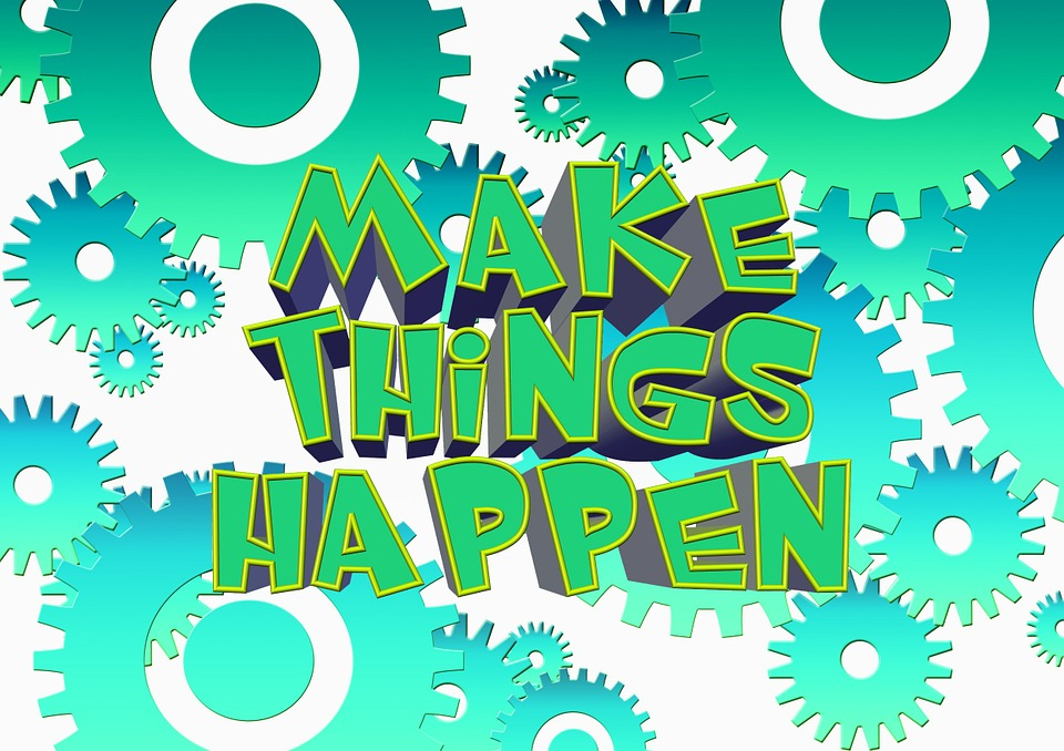 Help to make things happen! – get in touch with us anytime