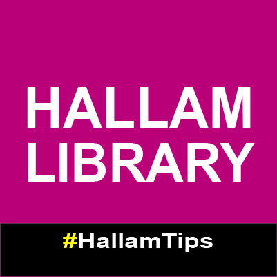 Hallam Library – new name!