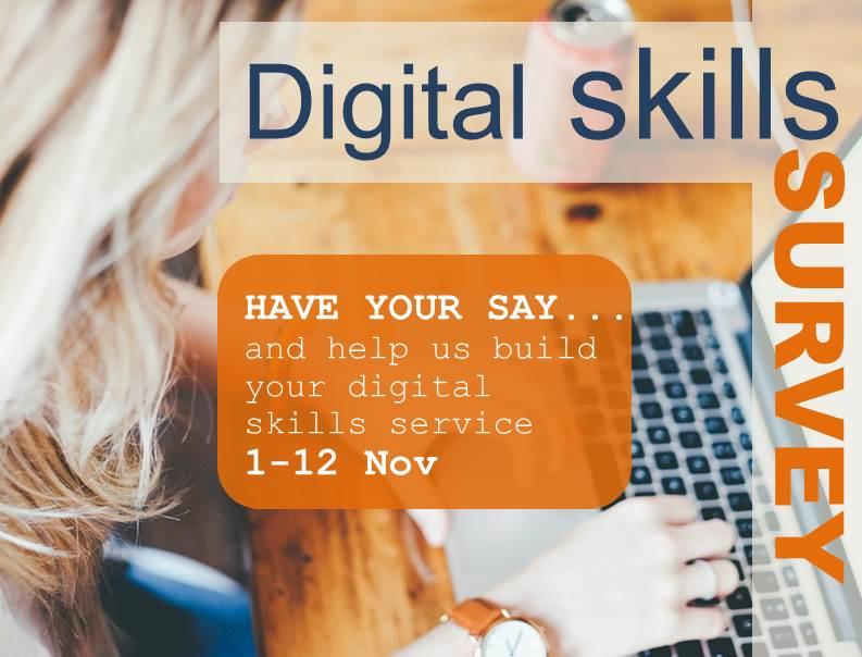 Have your say… and help to build your own digital skills service!