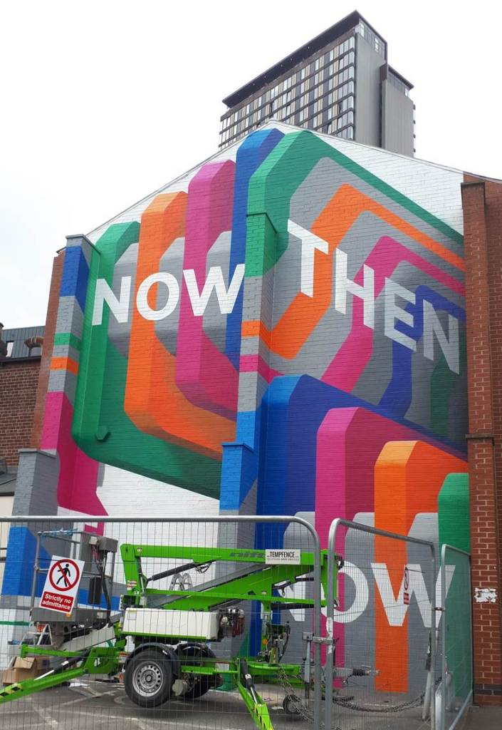 NowThen – celebrating ten years by partnering Sheffield Hallam University