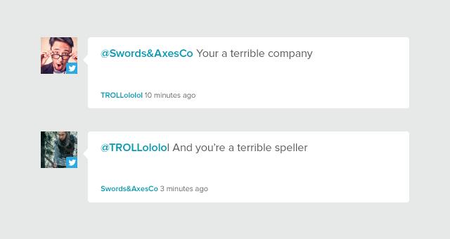 Don't feed the trolls.