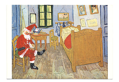 Handmade Christmas Cards Sent By Famous Artists To Their